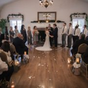 Indoor ceremony by Duston Todd
