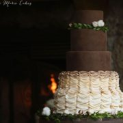 chocolate-wedding-cake-ombre-ruffles-ashlee-marie-cakes-utah