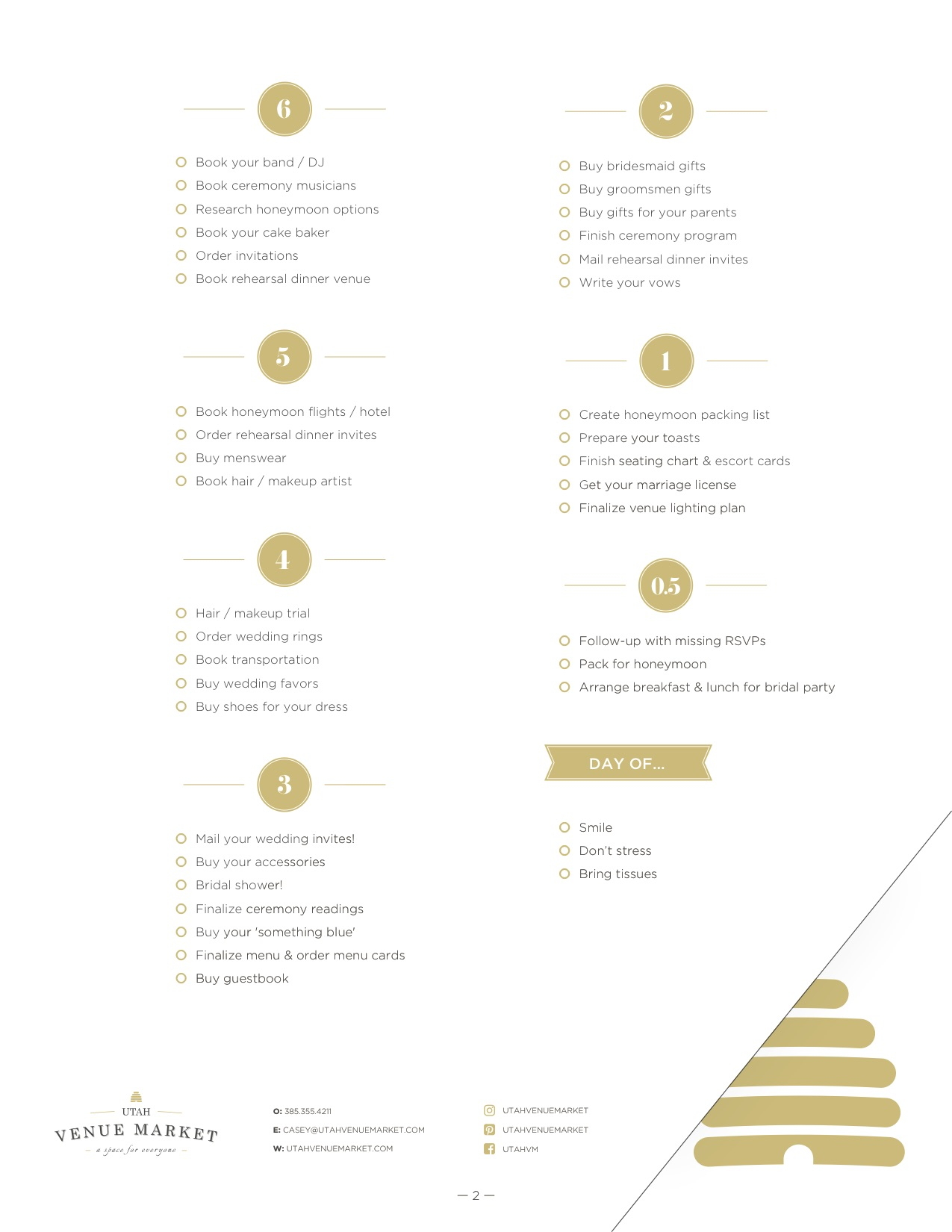 Sanity Saving Ultimate Wedding Checklist