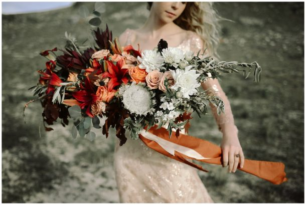 Copper and Geode Wedding Inspiration