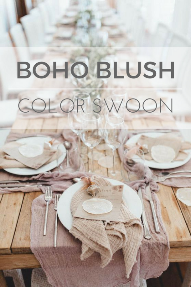 Color Swoon  ::  Boho Blush
